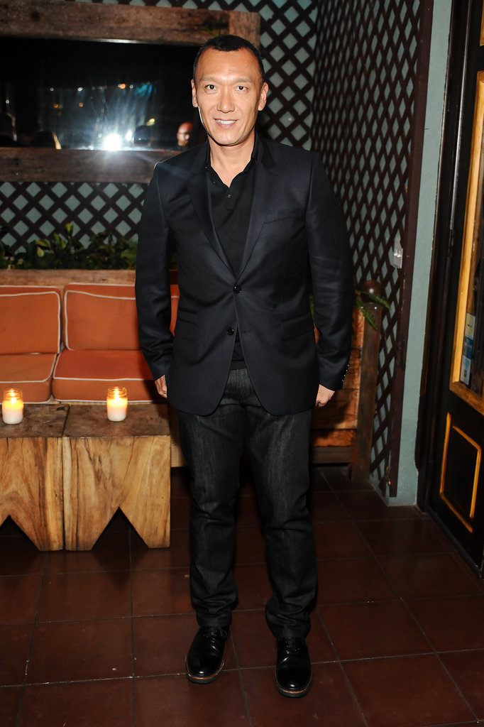 In West Hollywood, Joe Zee looked sleek in his black designs at a dinner for Elle and J Brand.