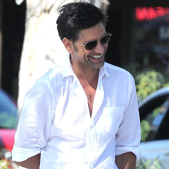 John Stamos and Dave Coulier Hanging Out in LA