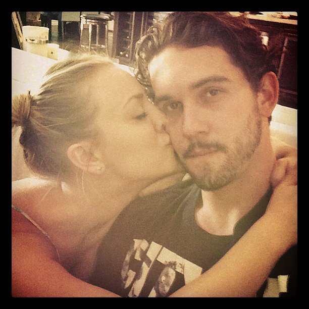 Kaley and Ryan just can't keep their love to themselves!  Source: Instagram user Ryan Sweeting