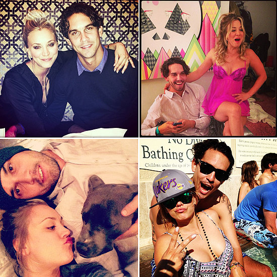 Newly Engaged Kaley Cuoco and Ryan Sweeting Are Instagram Lovebirds
