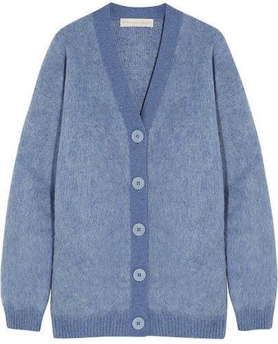Stella McCartney Oversized wool-blend cardigan