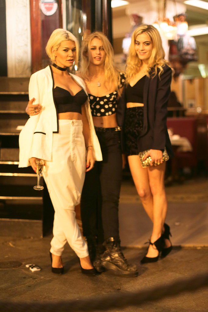 Jenne Lombardo, Alice Dellal, and Chelsea Leyland joined MAC at the Made event in Paris.
