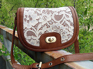 Image of  Cool Lace Fresh Shoulder Bag