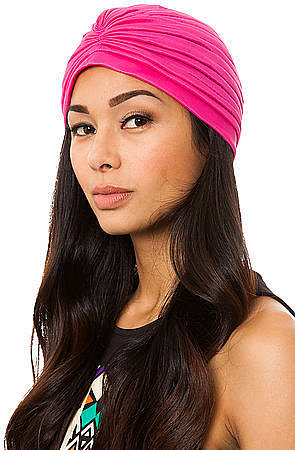 *MKL Accessories The Hot Pink Turban