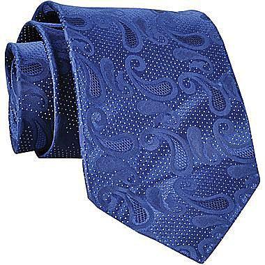 Claiborne Paisley Silk Tie