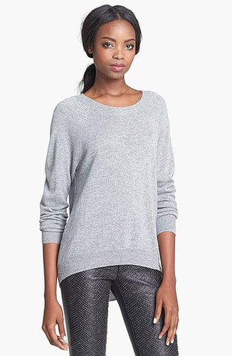 autumn cashmere Elbow Patch Cashmere Sweater