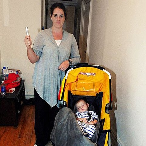 Mom Fights Off Attacker to Protect Baby