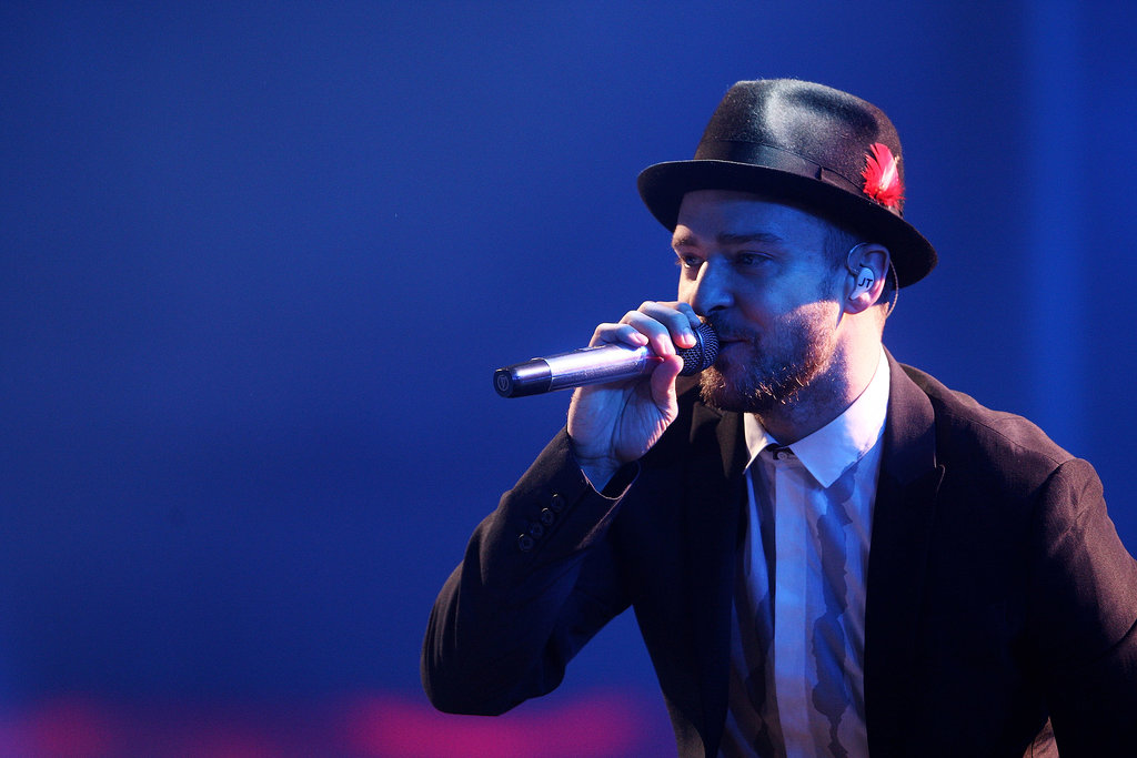 In between tours, Justin Timberlake performed in London for the iTunes Festival on Sept. 29.