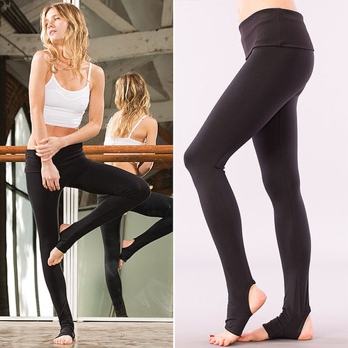 Solow Long Foot-Holed Leggings