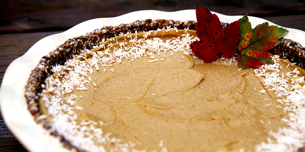 Pumpkin Pie Gets a Healthy Makeover With This Nut and Coconut Crust