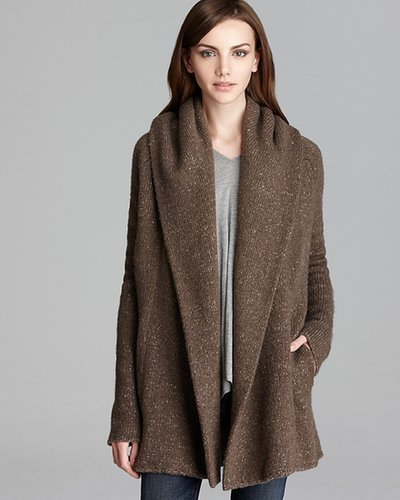 Vince Sweater Coat - Tweed