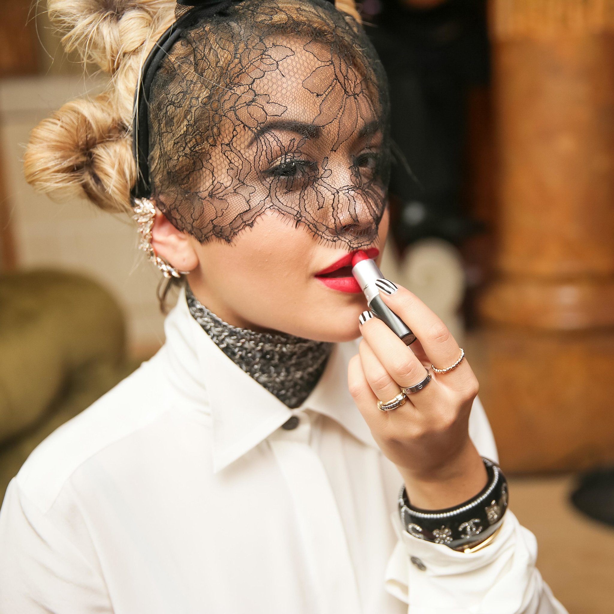 Rita Ora at the Mademoiselle C Cocktail party