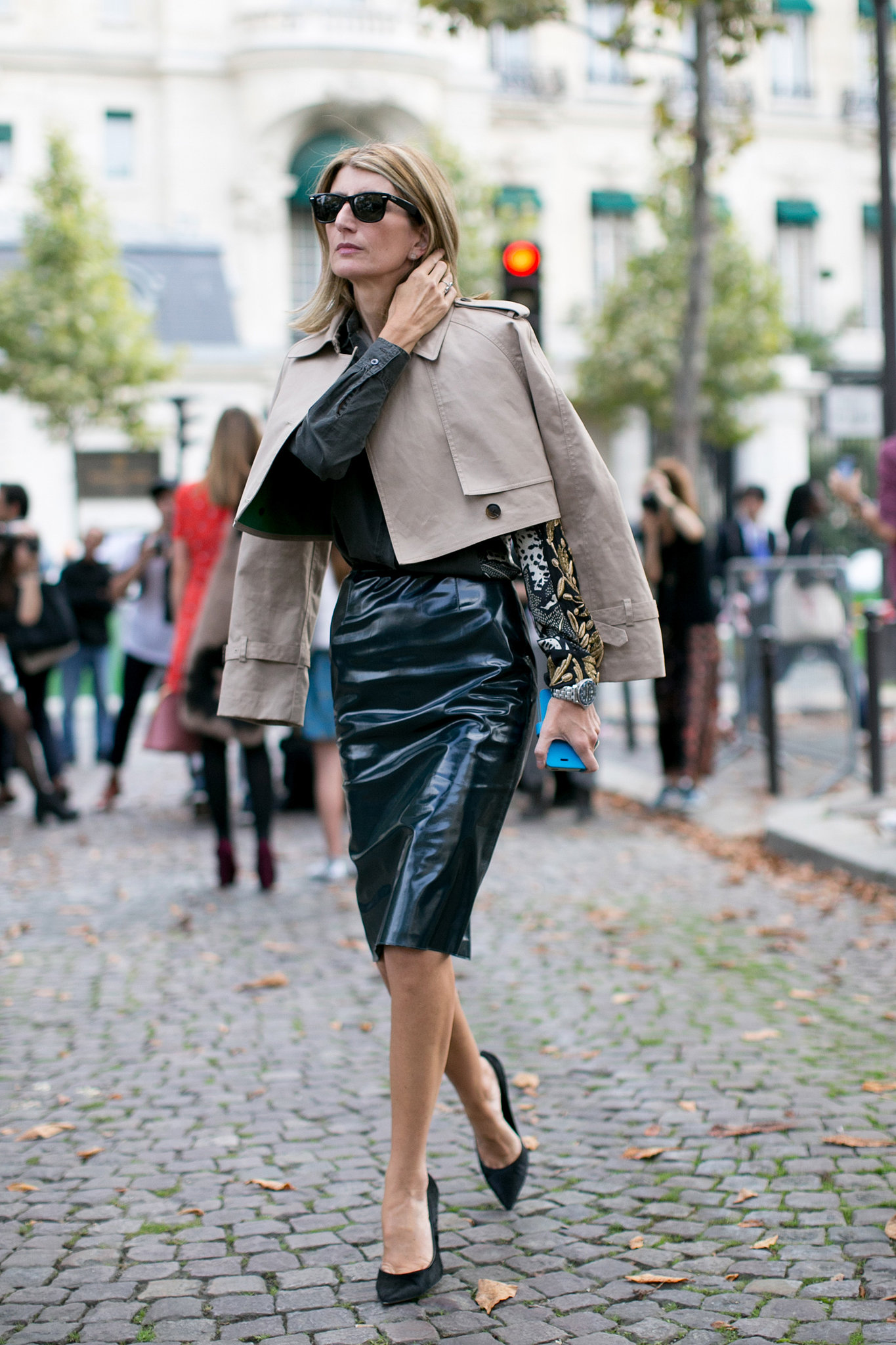 Sarah Rutson Perfected The Sophisticate S Play On Leather