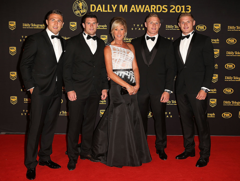Sam, Luke, Julie, George and Tom Burgess