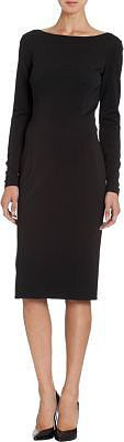 Theory Icon Classic Tech Long Sleeve Dress
