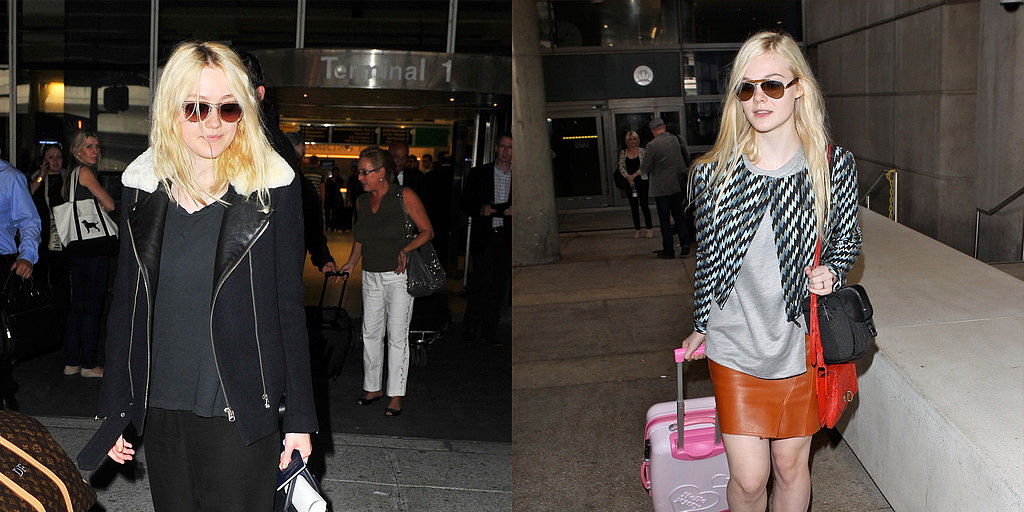 Star Airport Outfits to Copy This Holiday Season