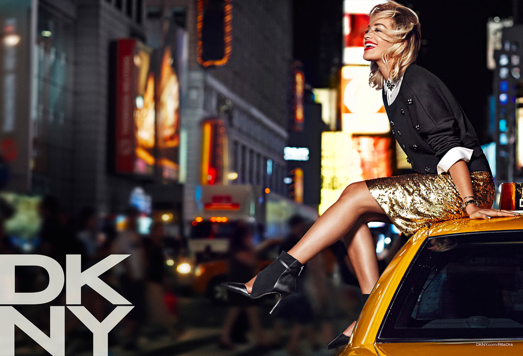 Rita Ora photographed by Lachlan Bailey. Photo courtesy of DKNY