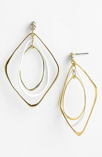 Alexis Bittar 'Miss Havisham - Liquid Gold' Orbiting Drop Earrings