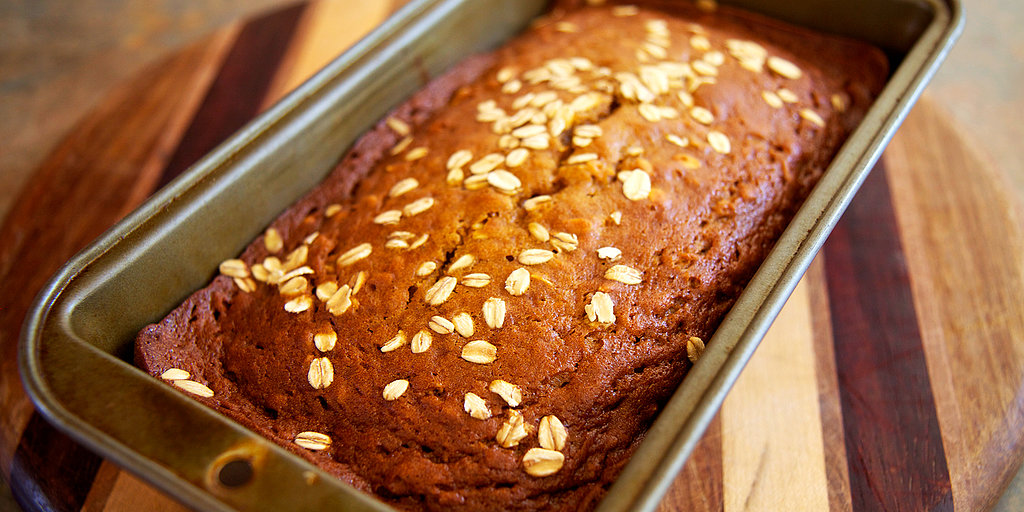 Fall Just Got Healthier: Oatmeal Pumpkin Spice Bread
