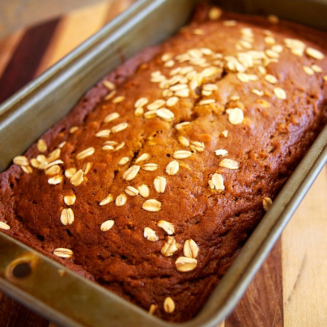 Oatmeal Pumpkin Spice Bread Recipe   POPSUGAR Fitness