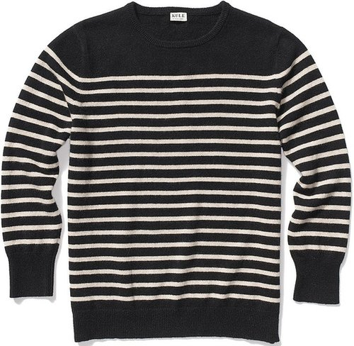 Kule Preston Cashmere Breton Stripe Sweater