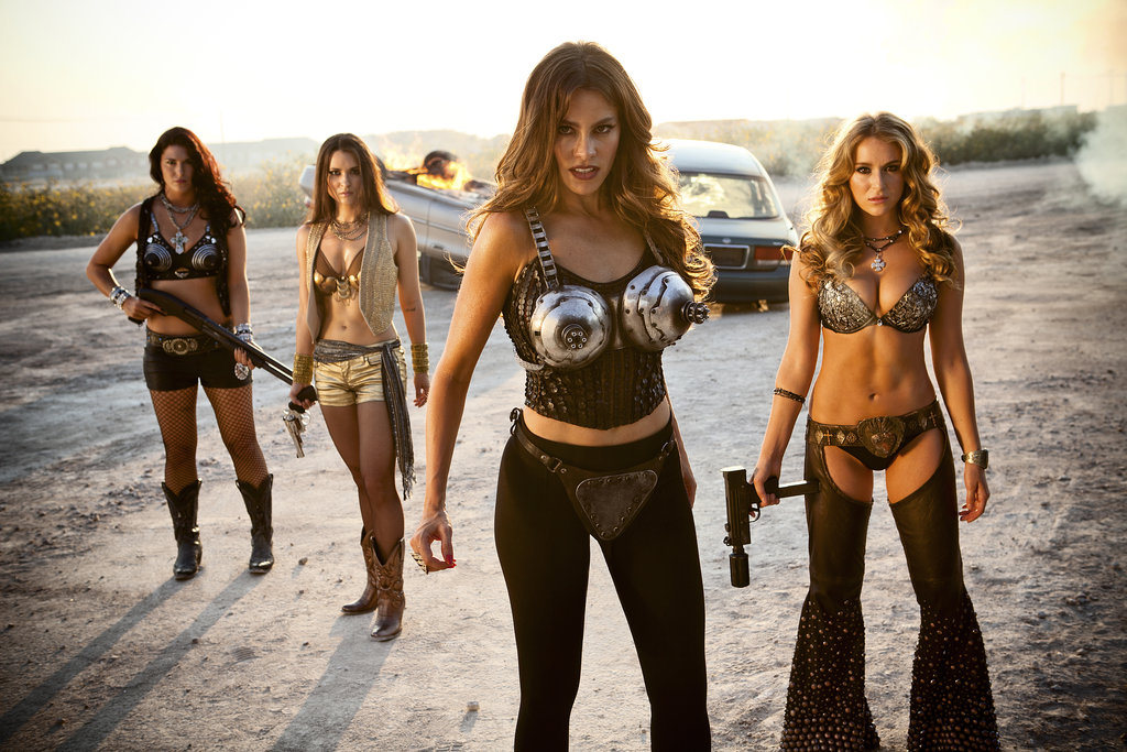 Sofia Vergara and Alexa Vega in Machete Kills. Source: Open Road Films