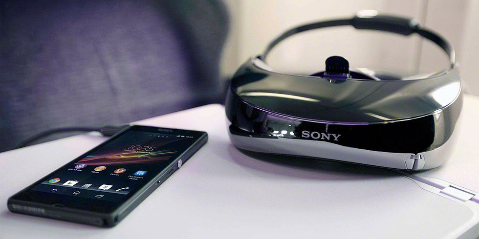 Sony's Personal 3D Viewer Projects the Big Screen For Your Eyes Only