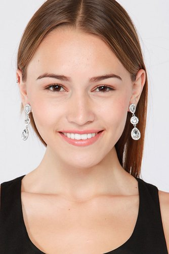 Elegant Embellished Dangling Earrings