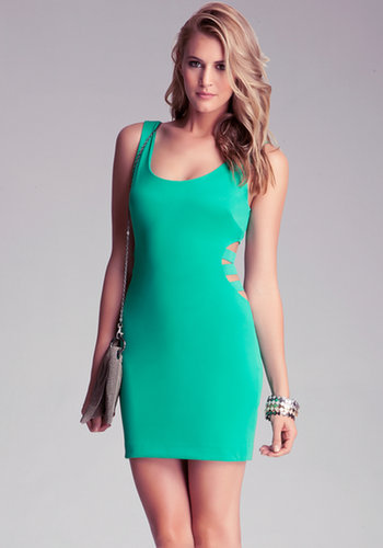 Banded Side Cutout Dress