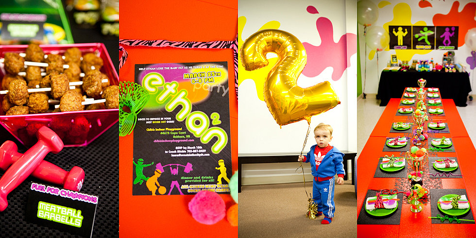 Get Pumped! A Totally Awesome '80s Birthday Bash
