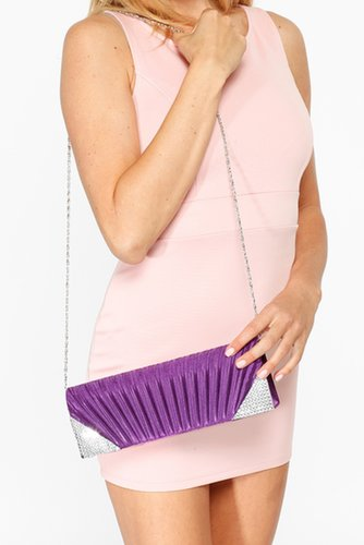 Purple Sea Shell Embellished Clutch @ Cicihot Handbags online store sales:Women's handbag,Cheap handbags,Oversize handbag,Leathe