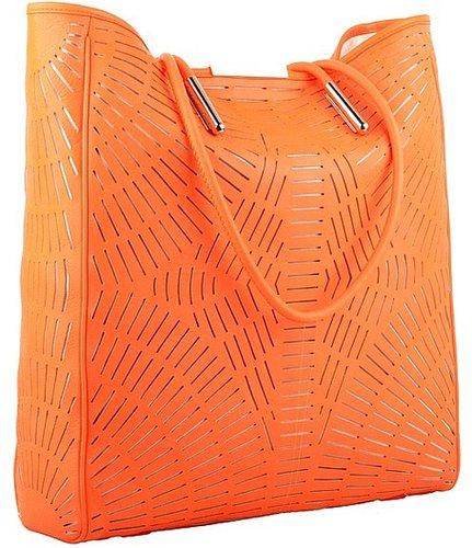 McQ - Shopper (Neon Orange) - Bags and Luggage