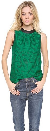 Tibi Sleeveless Top