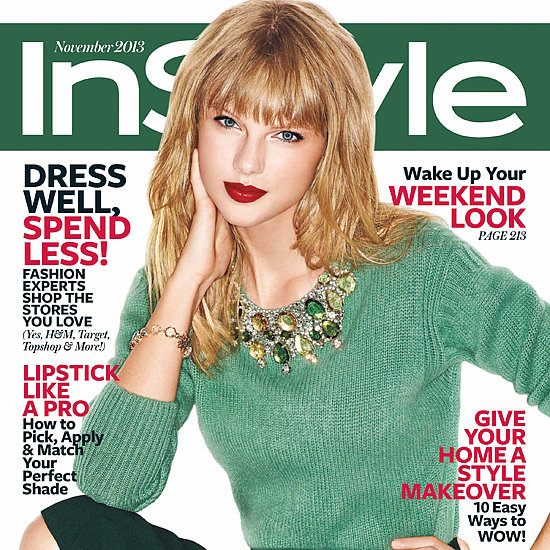 Taylor Swift in InStyle Magazine November 2013