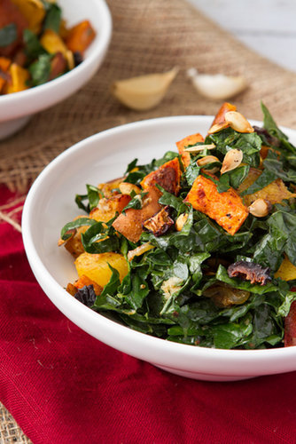 Rockin' Roots Warmed Kale Salad