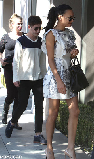 Naya Rivera Wedding Dress Shopping With Kevin McHale