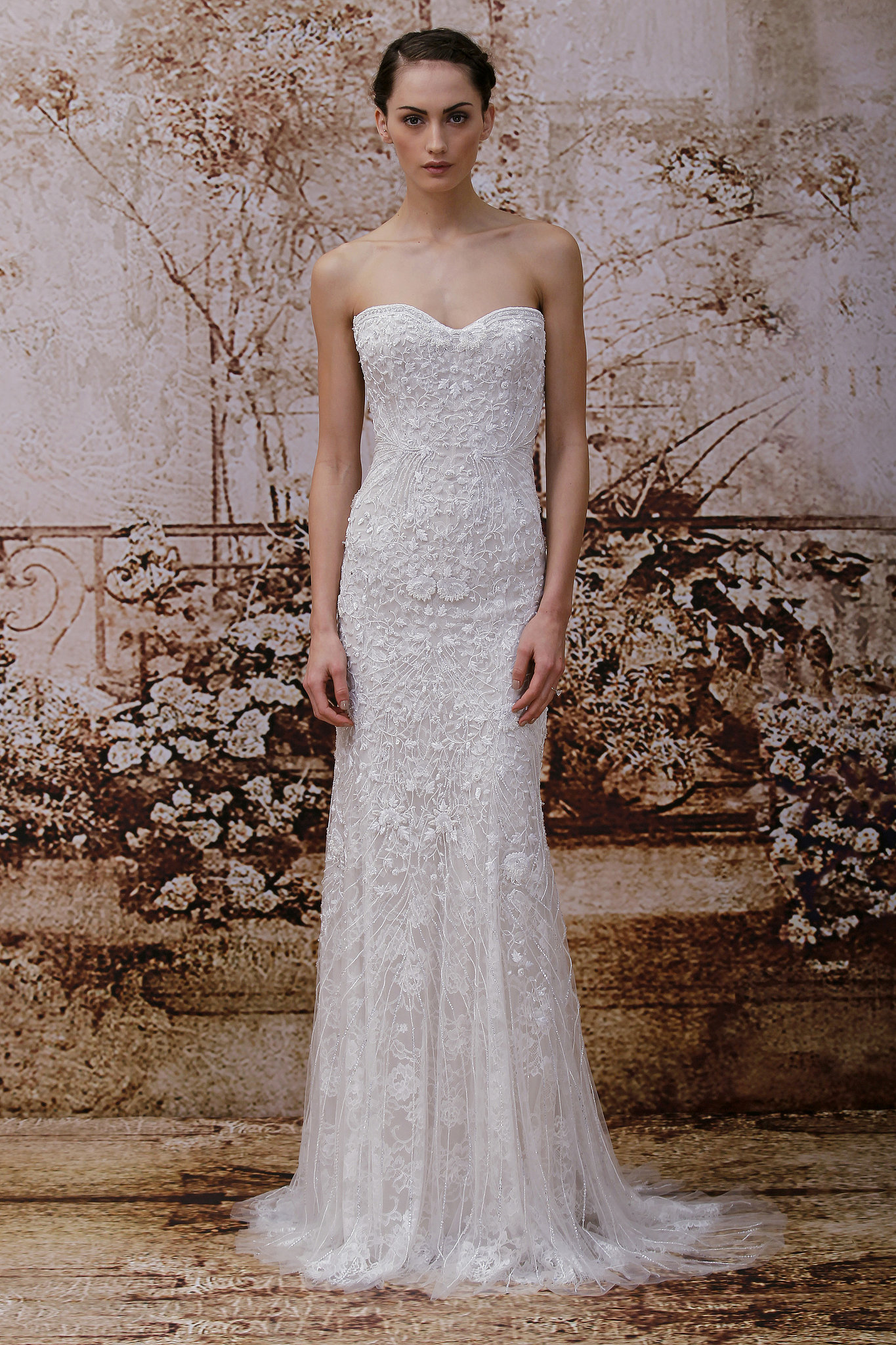 Monique Lhuillier Fall 2014 Wedding Dresses Monique Lhuillier Bridal Fall