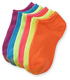GOLD TOE® 6-pk. Brights Jersey Liner Socks