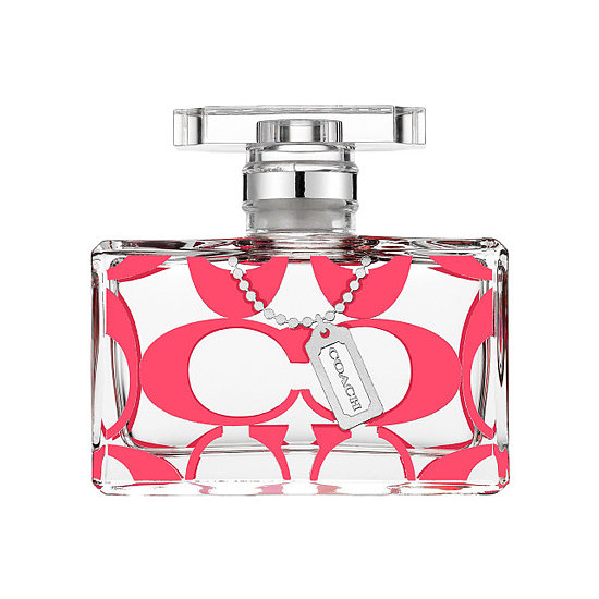 If you couldn't tell by the pink bottle, Coach's Signature Scent ($68) is going colorful for the cure. Twenty percent of the proceeds are going to the Breast Cancer Research Foundation this month.