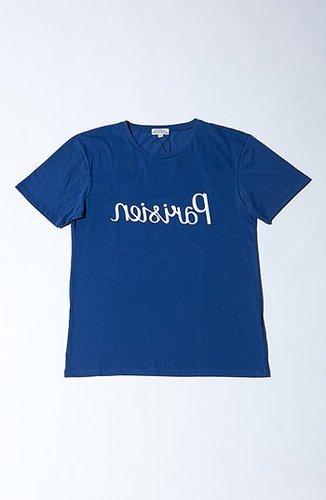Kitsune Kitsuné Reversed 'Parisien' Unisex T-Shirt