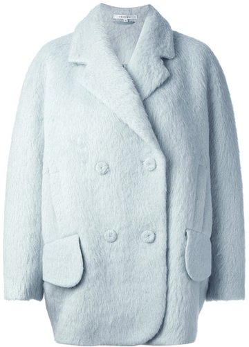 Carven 'Hairy' coat