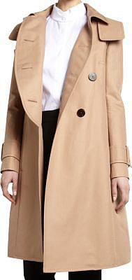 Carven Water Resistant Trench