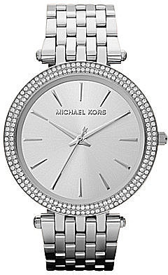 Michael Kors Darci Silver Watch