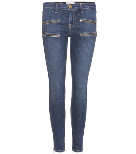 Current/Elliott THE MULTI ZIP STILETTO SKINNY JEANS