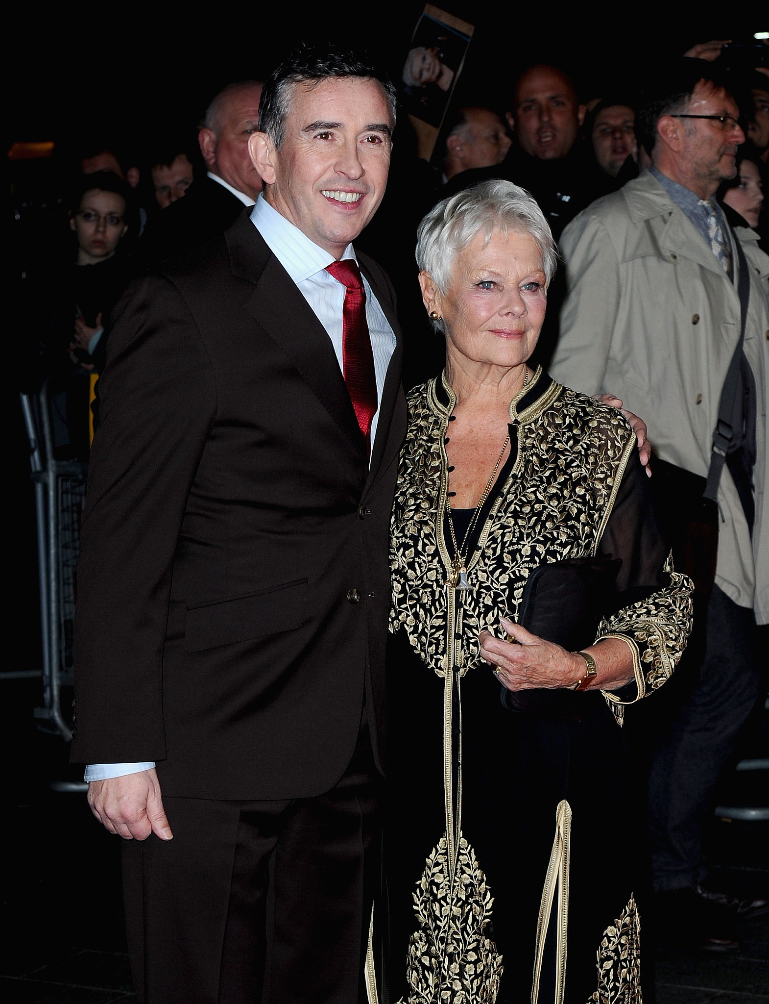 Judi Dench couple