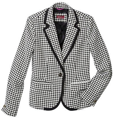Merona® Women's Oxford Blazer - Assorted Prints