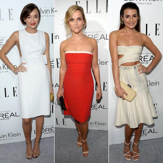 Elle Women in Hollywood Red Carpet