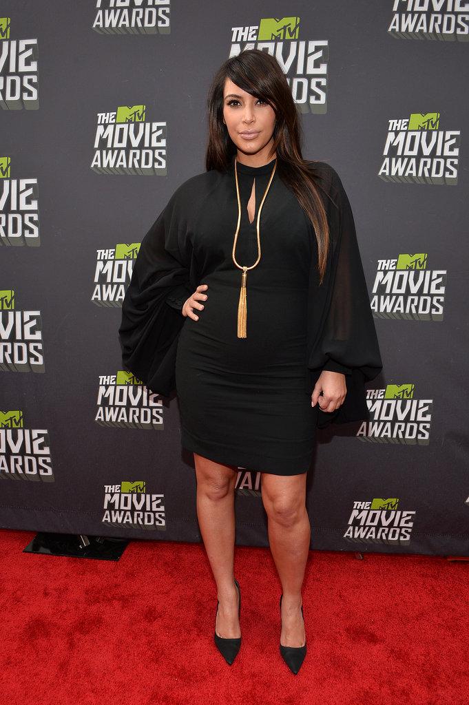 Kim Kardashian at the 2013 MTV Movie Awards