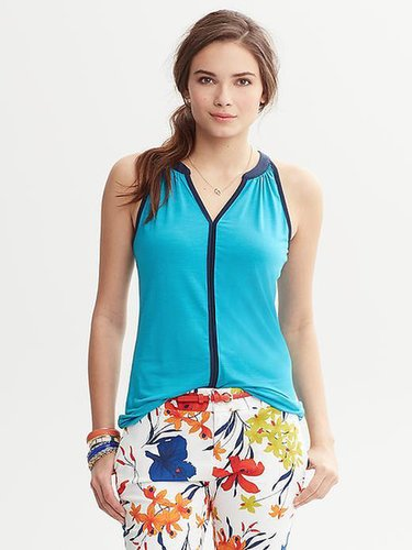 Piped Halter-Neck Tank