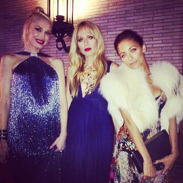 Gwen Stefani, Rachel Zoe, and Nicole Richie had a fun moms' night out together at the Annenberg Gala in LA. Source: Instagram user rachelzoe